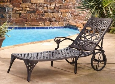 Walmart Outdoor Chaise Lounges Intended For Most Popular Outdoor Chaise Lounge Chairs Bedroom (View 9 of 15)