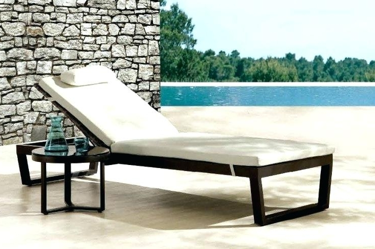 Walmart Outdoor Chaise Lounges Within 2017 Catchy Folding Chaise Lounge Chair Walmart – Novoch (View 13 of 15)