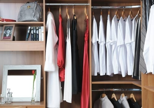 Wardrobe And Storage Accessories Throughout Double Up Wardrobes Rails (View 6 of 15)