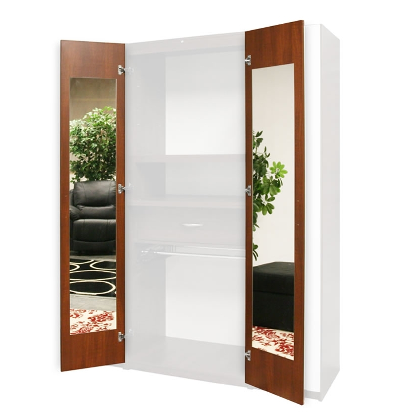 Wardrobe Closet Mirrored Interior – Door Mirrors, 165 Degree Intended For 2018 Cheap Wardrobes With Mirrors (View 12 of 15)