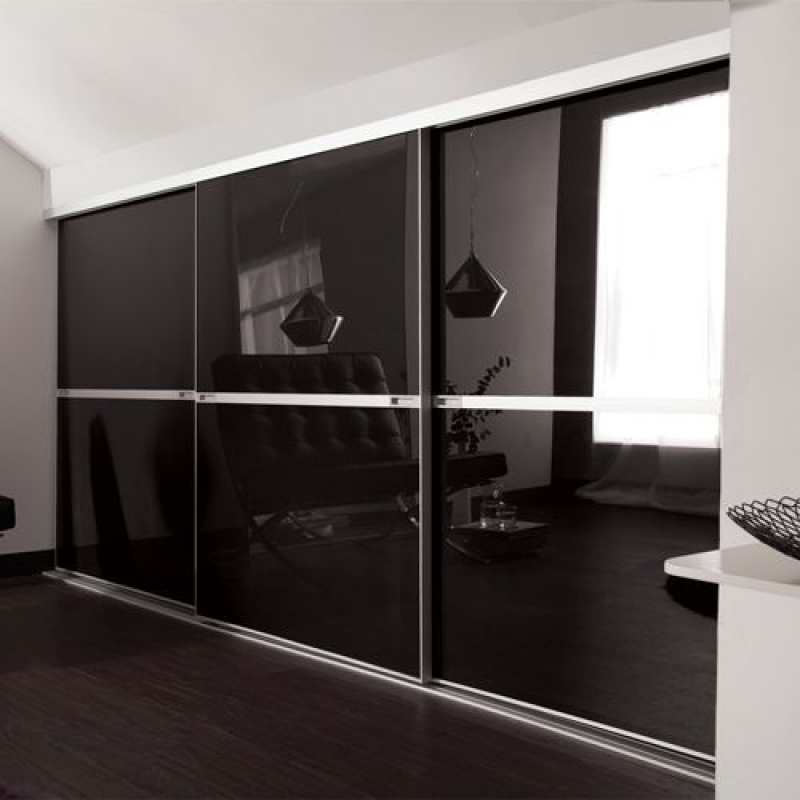 Wardrobe Designs Furniture In Most Recently Released Black Glass Wardrobes (View 15 of 15)