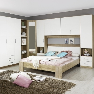 Featured Photo of Over Bed Wardrobes Units