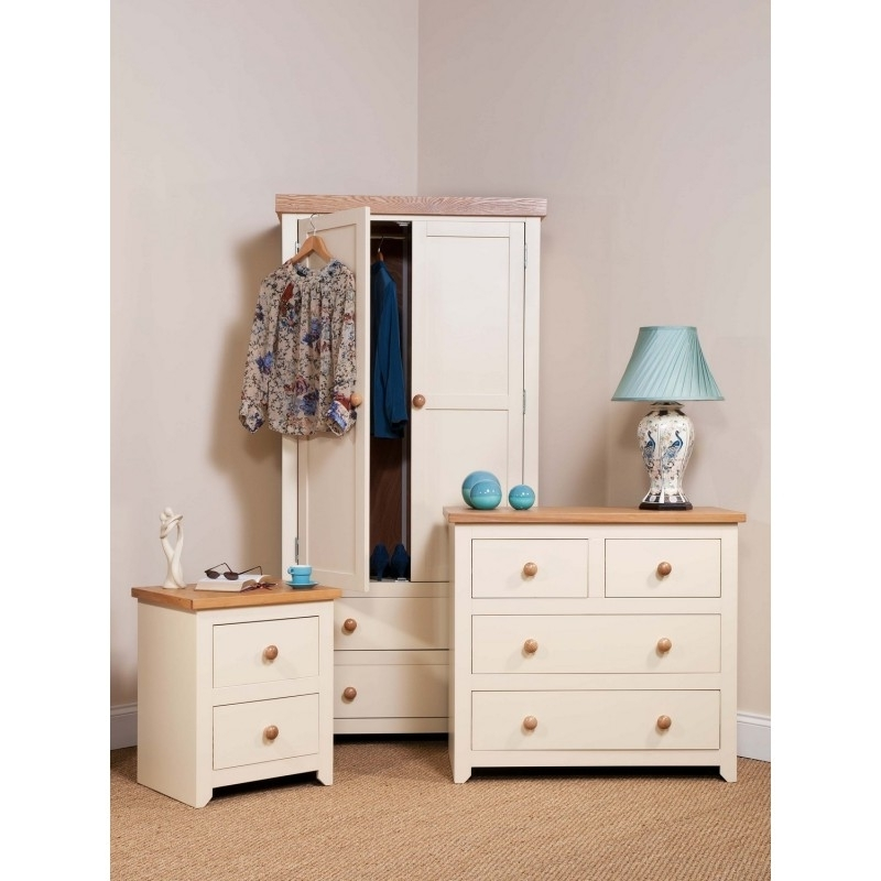 Wardrobes And Chest Of Drawers Combined In 2018 Solid, Oak, Pine Wood Bedroom, Living, Dining, Childrens Room (View 13 of 15)