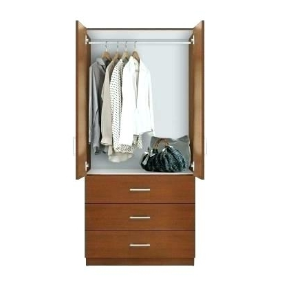 Wardrobes And Drawers Combo With Regard To Well Known Exotic Wardrobe Dresser Combo Large Size Of