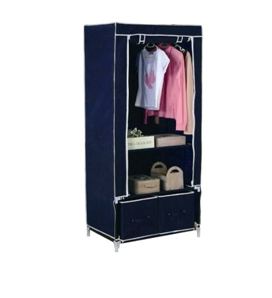 Wardrobes ~ Argos Canvas Double Wardrobe Instructions Foldable With Most Popular Double Rail Wardrobes Argos (View 9 of 15)