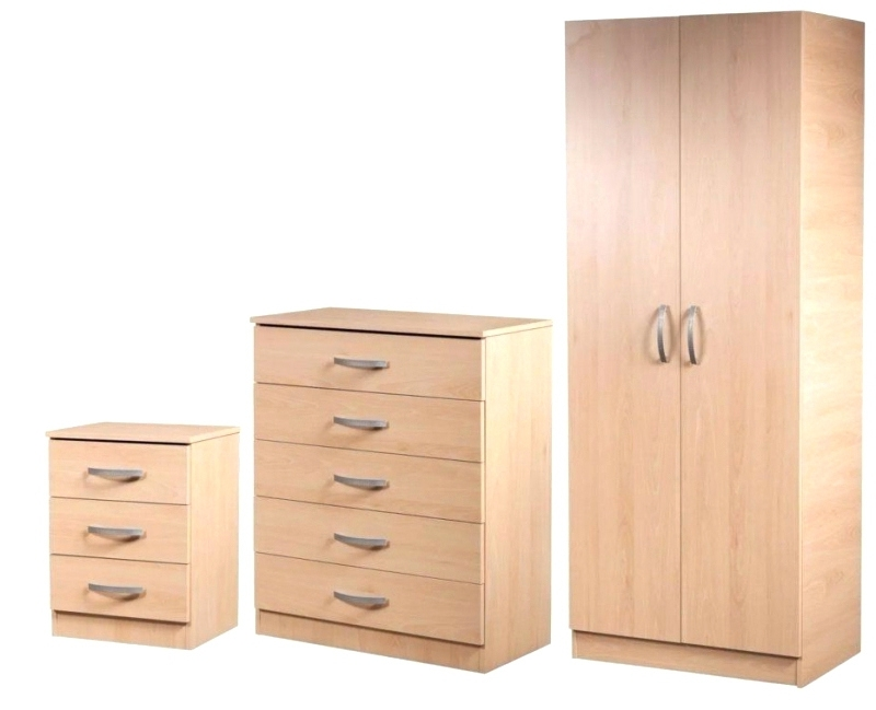 Wardrobes ~ Childrens Wardrobe And Drawer Set Wardrobe And Chest Throughout Current Cheap Wardrobes Sets (View 11 of 15)