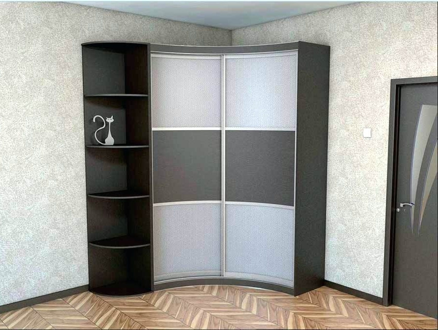 Wardrobes ~ Corner Wardrobe Closet And Corner Shelves Design For For 2018 Small Corner Wardrobes (View 15 of 15)
