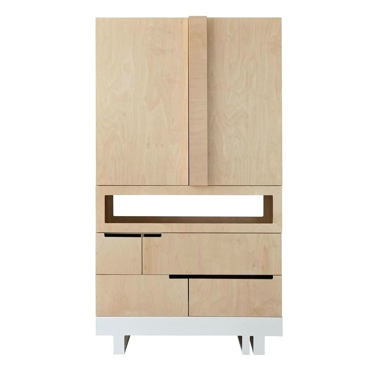 Wardrobes ~ Kutikai Drawer And Shelf Unit Bookcase Birch Wood Intended For Most Recent Childrens Tallboy Wardrobes (View 9 of 15)