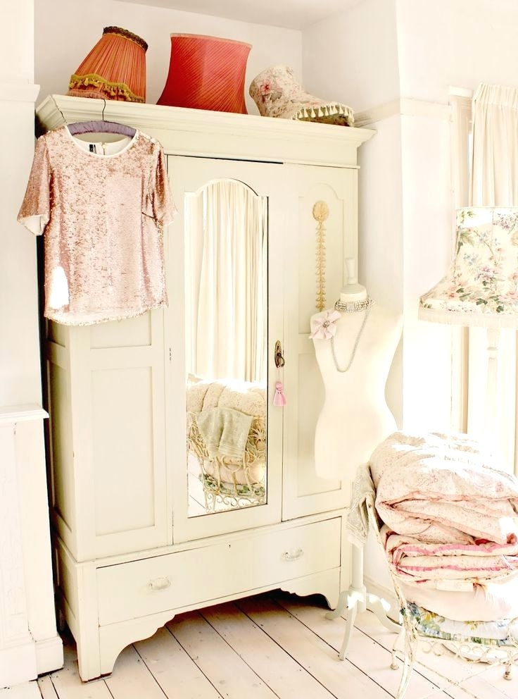 Wardrobes ~ Shabby Chic Door Furniture Shabby Chic Cabinet Door In Fashionable Vintage Shabby Chic Wardrobes (View 14 of 15)