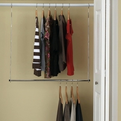 Wardrobes: Wardrobe Hanger Rod (View 13 of 15)