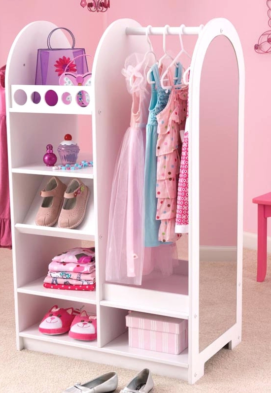 Featured Photo of Childrens Pink Wardrobes