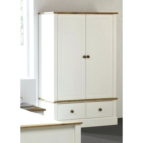 Wardrobes ~ White Painted Garden Furniture Uk White Solid Pine Within Most Current White Pine Wardrobes (View 12 of 15)