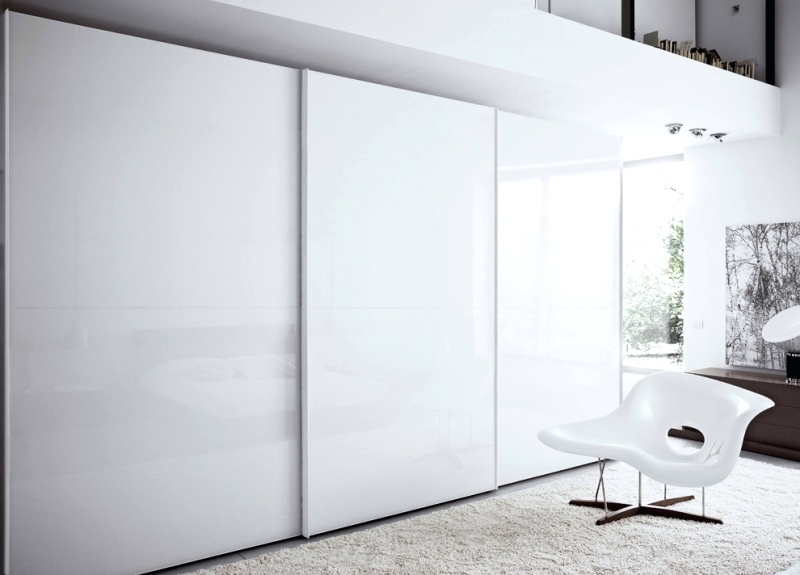 Wardrobes ~ White Sliding Door Wardrobe Ebay Ikea Pax White Regarding 2018 White Gloss Sliding Wardrobes (View 9 of 15)