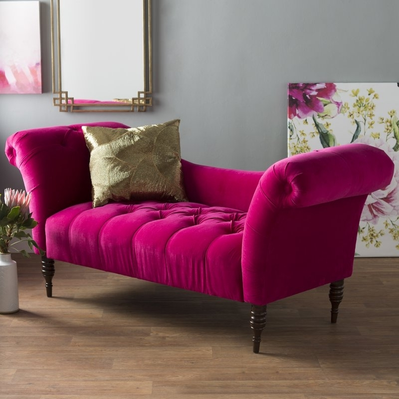 Wayfair Regarding Pink Chaises (View 12 of 15)
