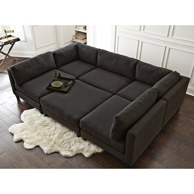 Wayfair Sectional Sofas Within Widely Used Homesean & Catherine Lowe Chelsea Modular Sectional & Reviews (View 7 of 10)