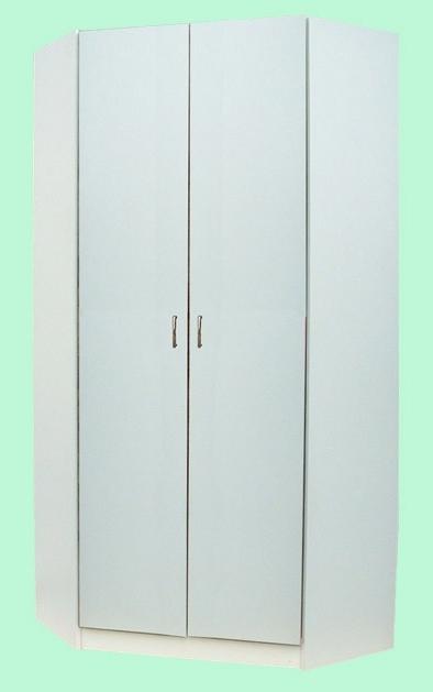Well Known 2 Door Corner Wardrobes With Junita 2 Door Corner Wardrobe – M2090 Beech & White (View 14 of 15)