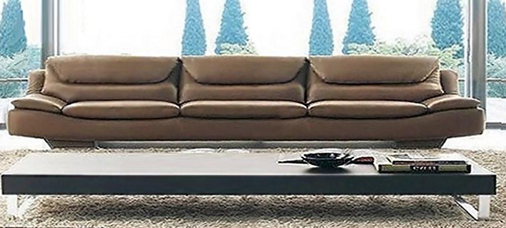 Well Known 4 Seat Leather Sofas For Italian Leather Sofa Oscar Seniorcalia Maddalena (View 10 of 10)