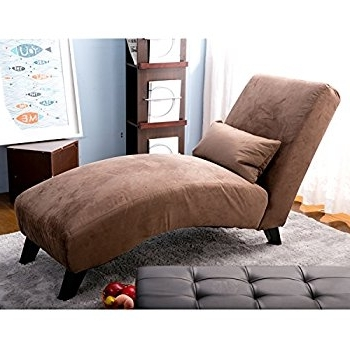 Well Known Amazon: Merax Classic Fabric Chaise Lounge, Sofa Chair Bed Regarding Chaise Lounge Sleepers (View 6 of 15)