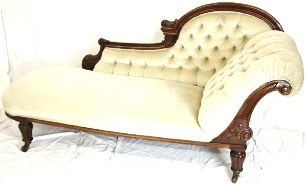 Well Known Antique Chaise Lounge Chairs Incredible Antique Chaise Lounge With Regard To Vintage Indoor Chaise Lounge Chairs (View 14 of 15)