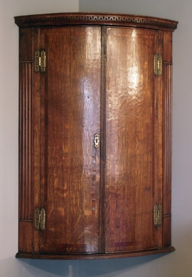 Well Known Antique Hanging Corner Cupboard (View 14 of 15)