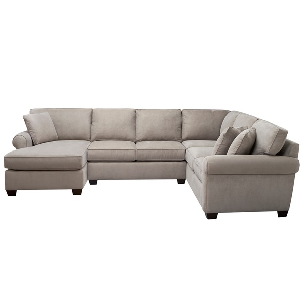 Well Known Art Van Marisol Iii 3 Piece Grey Sectional Sofa Set (View 10 of 10)