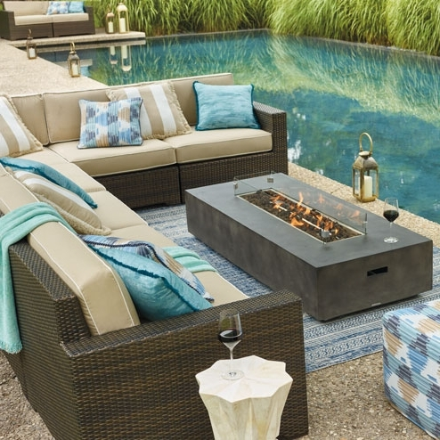 Well Known Beautiful Patio Furniture Couch Outdoor Sofa Regarding Designs 11 Regarding Patio Sofas (View 10 of 10)
