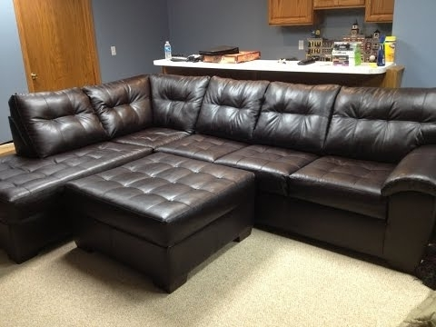 Well Known Big Lots Sofas For Sectional Couches Big Lots – Youtube (View 1 of 10)