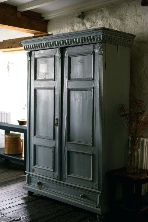 Well Known Black French Style Wardrobes Intended For Wardrobes ~ High Quality French Black Armoire Wardrobe Cabinet (View 13 of 15)