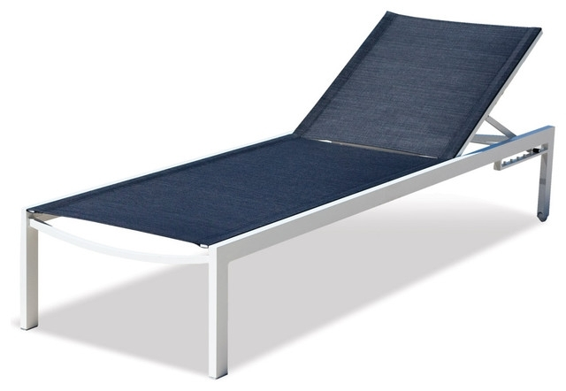 Well Known Captivating Aluminum Chaise Lounge Holborn Outdoor Mesh Lounge In Modern Outdoor Chaise Lounge Chairs (View 13 of 15)