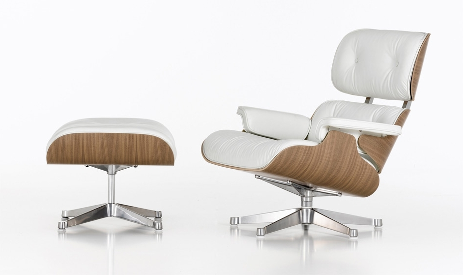 Well Known Chairs With Ottoman In Creation Process Of The Eames Lounge Chair And Ottoman (View 9 of 10)
