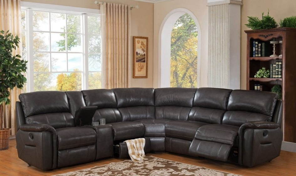Well Known Cheap Sectionals With Ottoman Intended For Cheap Leather Sectionals Tan Leather Sectional Ottoman Couch (View 10 of 10)