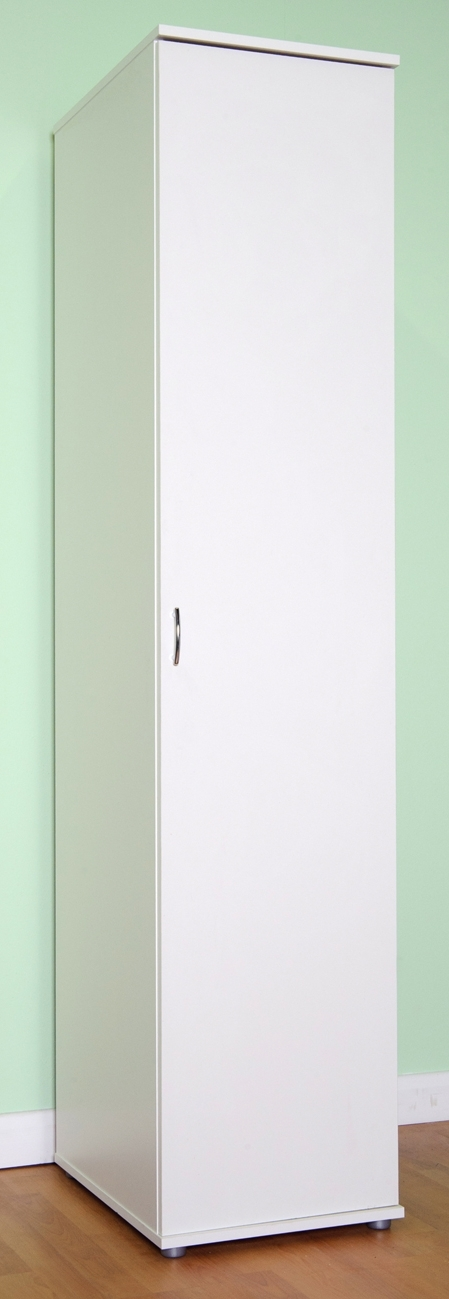 Well Known Chester 1 Door Wardrobe Shelves And Or Hanging Rail – M0940 Beech Inside White Single Door Wardrobes (View 9 of 15)
