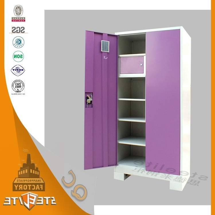 Well Known Cold Roll Steel Plate Living Room Furniture Closet Wardrobe / Kids Throughout Cheap Baby Wardrobes (View 15 of 15)