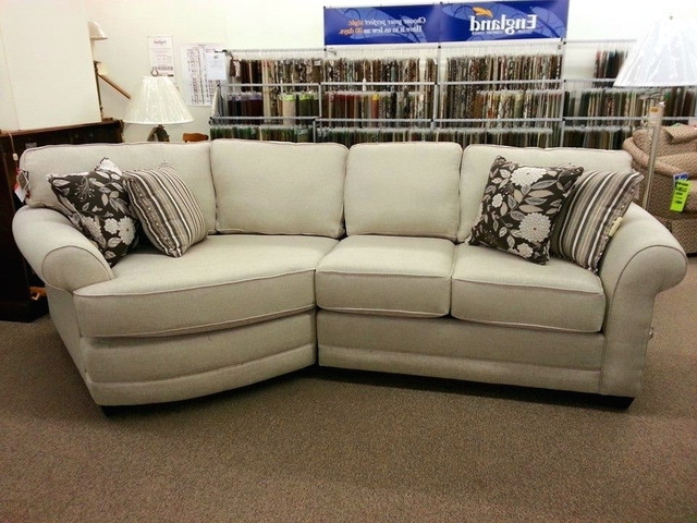 Well Known Cuddler Sectional Sofas Regarding Romantic Appealing Sectional Sofa Cozy With Cuddler Chaise Suede (View 7 of 10)