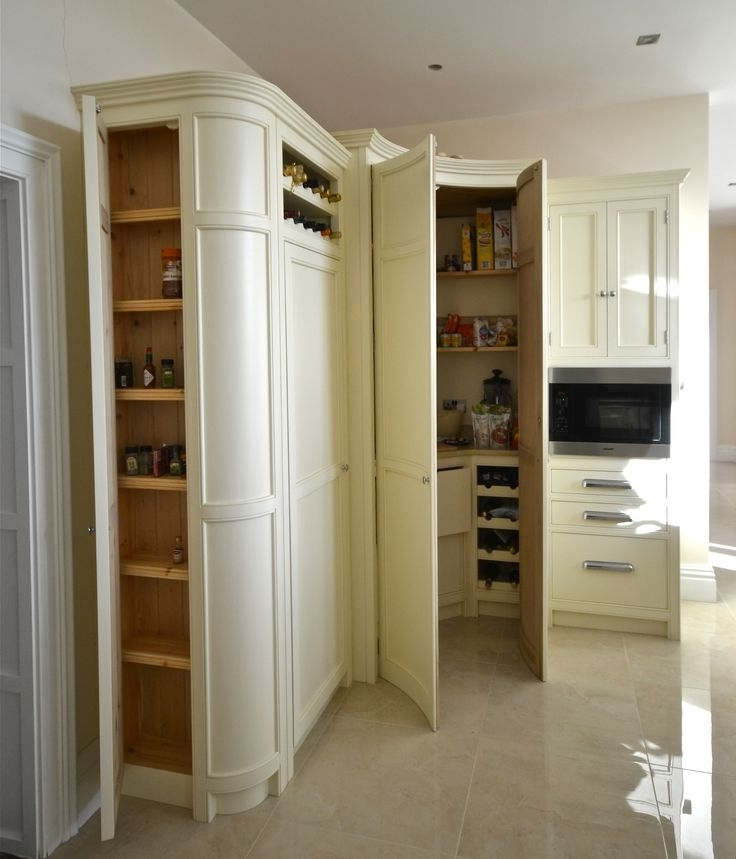 Well Known Curved Corner Wardrobes Doors Intended For 11 Best Kitchen Storage Solutions Images On Pinterest (View 3 of 15)