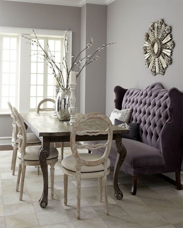 Well Known Dining Sofa Chairs Within Love A Settee At The Dining Table (View 10 of 10)