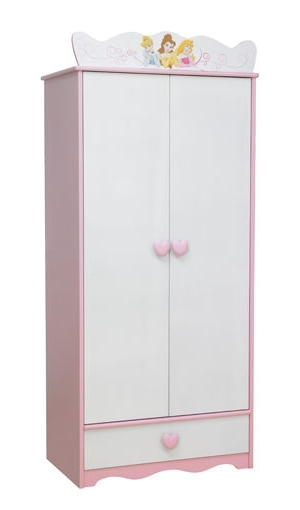 Well Known Disney Princess Wooden Wardrobe – Barely Used (View 14 of 15)