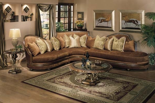 Well Known Elegant Sofas And Chairs Within Elegant Living Room Furniture With Regard To Plans (View 7 of 10)