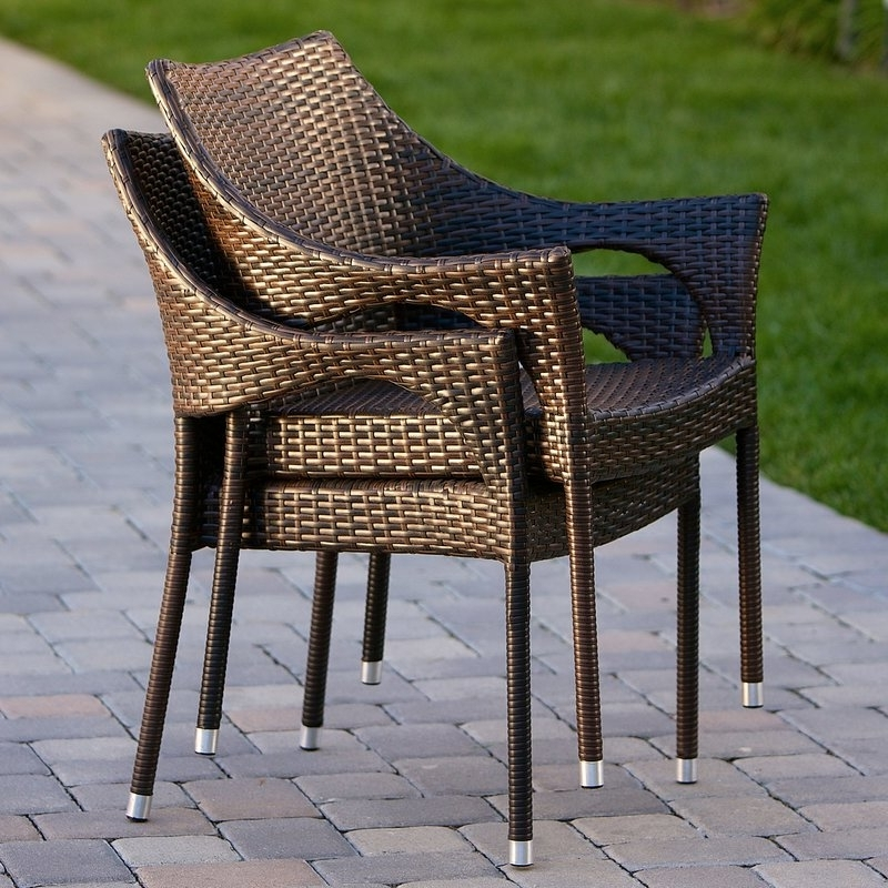 Well Known Endearing Outdoor Wicker Chairs At Mercury Row Danna Patio Chair With Outdoor Sofas And Chairs (View 10 of 10)