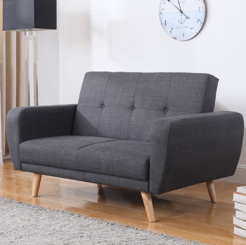 Well Known Fjørde & Co Farrow 2 Seater Clic Clac Sofa Bed & Reviews (View 10 of 10)