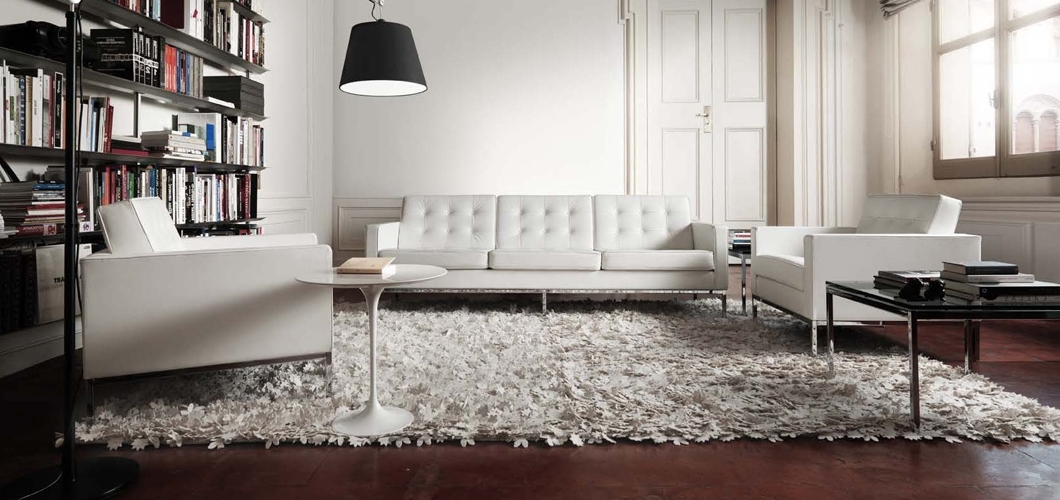 Well Known Florence Knoll Sofa (View 9 of 10)