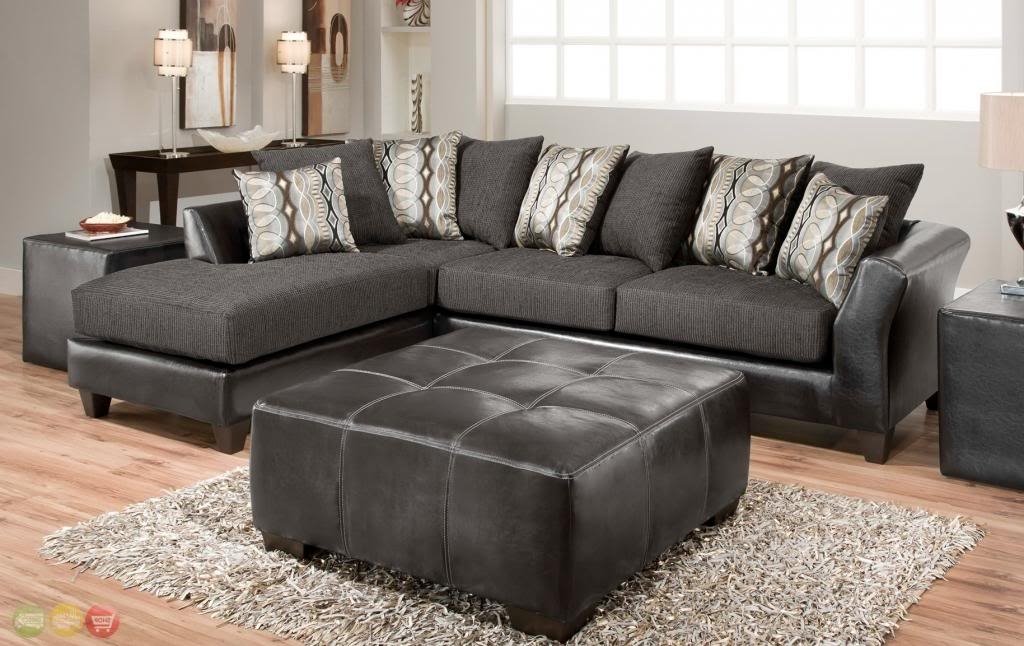 Well Known Gray Chaises Regarding Dark Gray Sectional Sofa With Chaise Loveseats Amp Chaises — The (View 13 of 15)