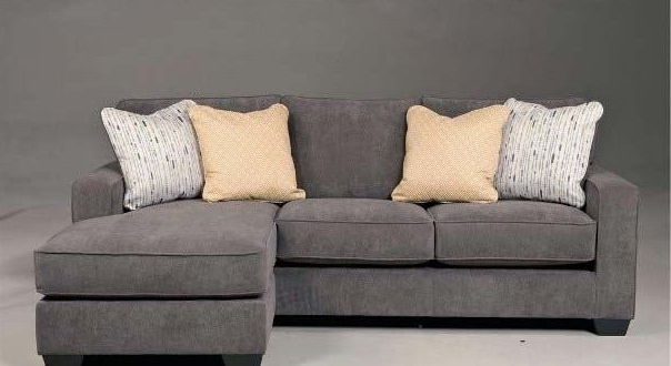 Well Known Gray Sectional Sofas With Chaise Pertaining To Using Gray Leather Sectional Sofas In Your Homes – Elites Home Decor (View 9 of 15)