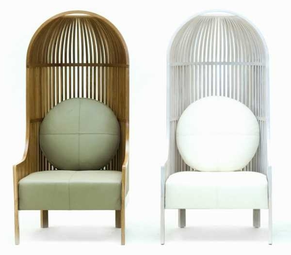 Well Known High Back Chair Design Offering Bird Cage Like Furniture For Inside Exotic Chaise Lounge Chairs (View 5 of 15)