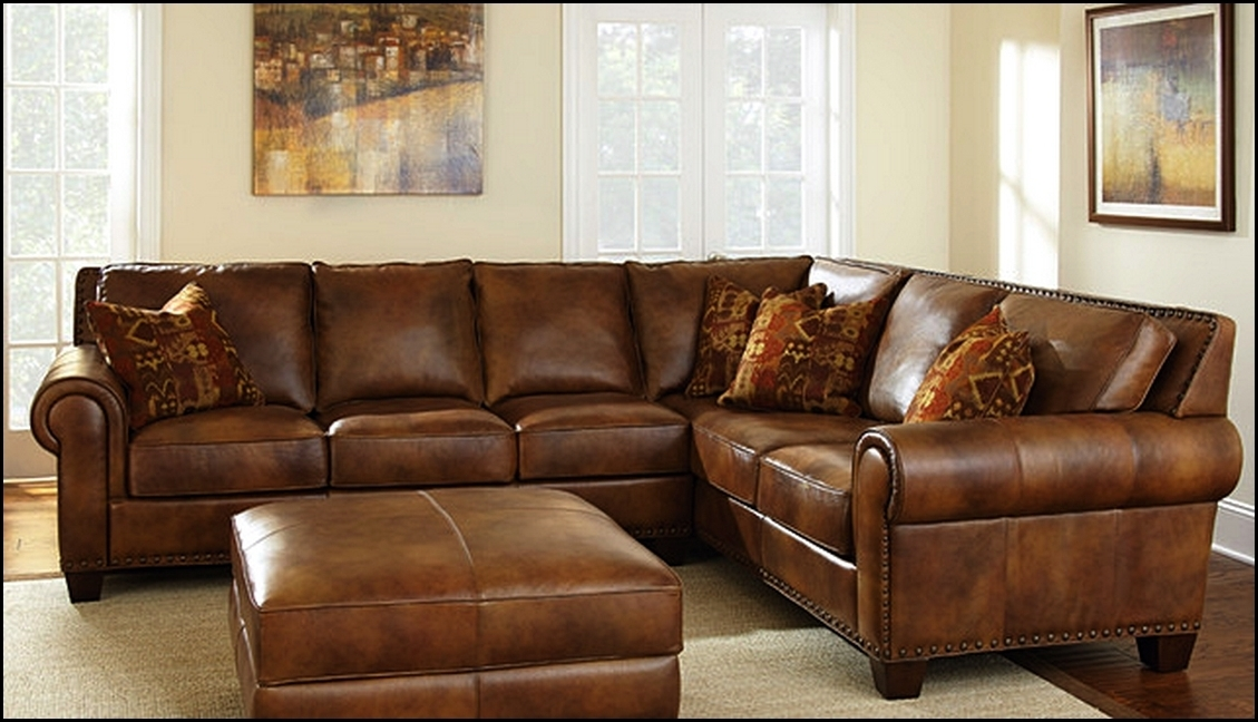 Well Known High End Leather Sectional Sofas In Thomasville Sectional Sofa Leather Home Design Ideas Thomasville (View 9 of 10)