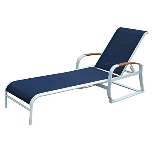 Well Known Homdox Adjustable Outdoor Patio Chaise Lounge Chair With Ergonomic Throughout Fabric Outdoor Chaise Lounge Chairs (View 14 of 15)