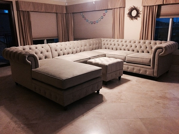 Well Known Houzz Sectional Sofas For Kenzie Style ! Custom Chesterfield Sofa Or Sectional (View 8 of 10)