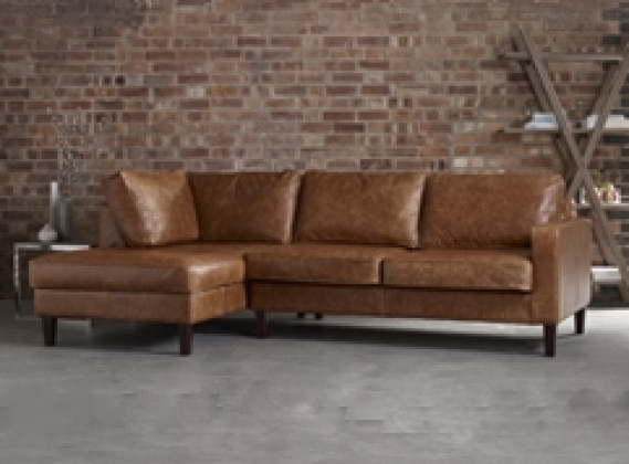 Well Known Leather Chaise Sofas: Handmade From Real, Top Grain & 50+ Colours Regarding Leather Chaise Sofas (View 3 of 15)