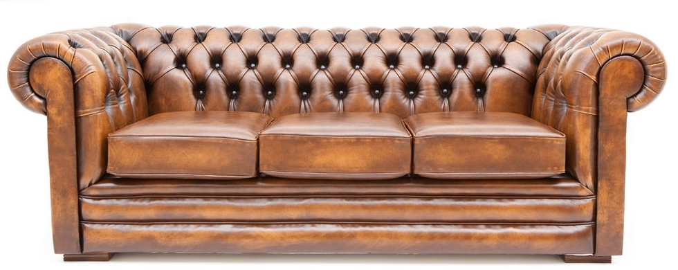 Well Known Leather Lounge Sofas With Regard To Chilli Pip Furniture – Chesterfield Leather Lounge (View 9 of 10)