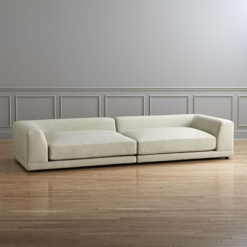 Well Known Low Sofas Sofas Low Profile Sofas – Smart Furniture With Regard To Low Sofas (View 9 of 10)